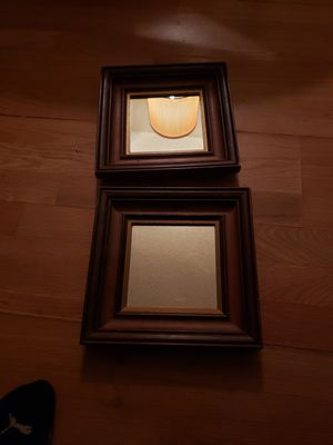 Small wooden mirrors for Sale in Redlands, CA