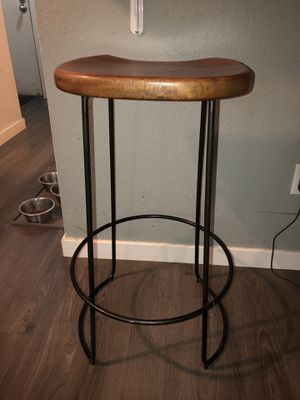 Wooden bar stool for Sale in SeaTac, WA