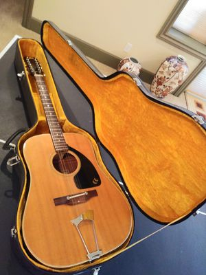 Aria 12 string guitar with case for Sale in Tacoma, WA