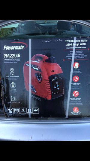 2200watt Portable Inverter Generator for Sale in Eugene, OR