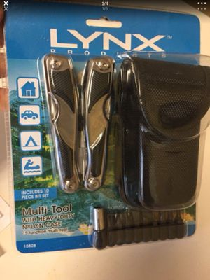 15 Function Multi-tool with belt pouch (includes 10 piece bit set) $20 BRAND NEW for Sale in Hialeah, FL