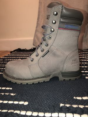 Caterpillar Women's Echo Waterproof Steel Toe Work Boot - US Size 5 1/2 for Sale in Watertown, MA