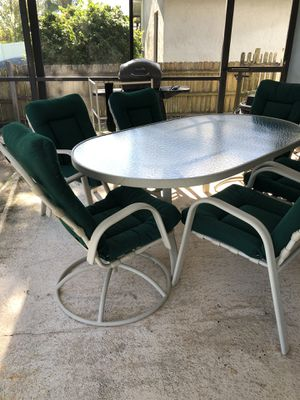 8 piece Patio Sale Pending for Sale in TWN N CNTRY, FL