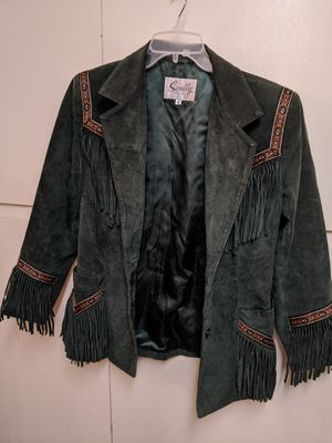 Vintage Scully Womans western fringe leather jacket for Sale in Sunnyvale, CA