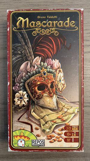 Mascarade board game for Sale in Seattle, WA