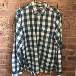 Burberry Brit Checker Pattern Button-up for Sale in Brooklyn, NY