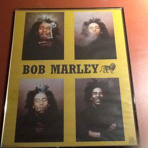 BOB MARLEY. 16. X. 20 FRAMED PHOTO.. for Sale in Boynton Beach, FL