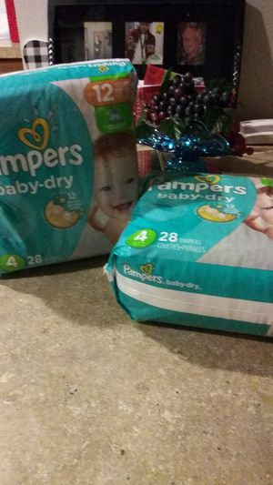 Pampers Diapers for Sale in Everett, WA
