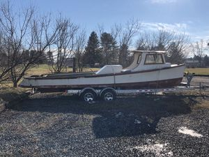 1930s Draketail Crabbing Fishing Boat w/ Trailer for Sale in Gettysburg, PA
