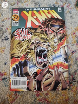 The Uncanny X-Men Direct Edition No 326 November 1995 for Sale in Walbridge, OH