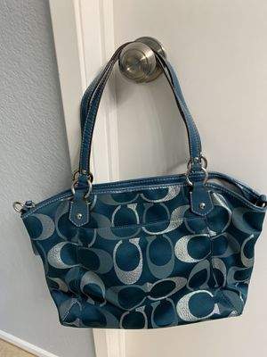 Coach purse and matching wallet for Sale in Fontana, CA