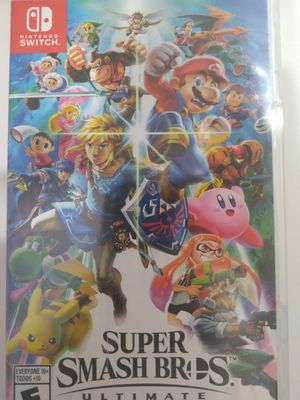 Super smash Bros ultimate for Sale in Brandon, FL