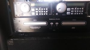 American audio 2 CD player for Sale in Sanger, CA