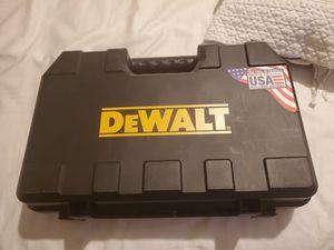 Dewalt Drill Case for Sale in New Orleans, LA