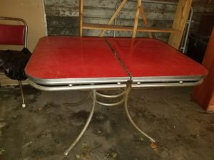 Antique table with 3 chairs for Sale in Cleveland, OH