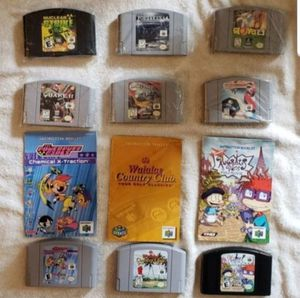 Nintendo 64 games $8.00 each for Sale in Portland, OR