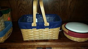 Longaberger baskets, market and gathering for Sale in Arlington, TX