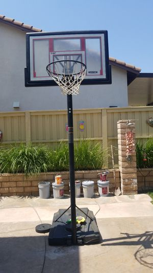 Basketball hoop adjustable for Sale in Lake Elsinore, CA