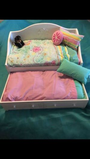 "American girl *DOLL* trundle bed for 18"" dolls for Sale in Saint Petersburg, FL"
