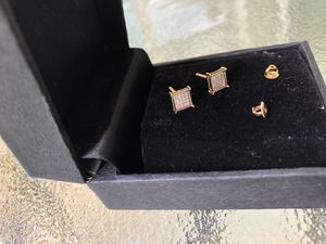 Diamond Earrings 10k for Sale in Austin, TX