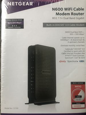 Brand new Netgear Cable Modem Router for Sale in Orlando, FL