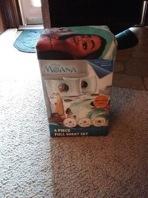 Disney Moana Sheet Set for Sale in Chesapeake, VA
