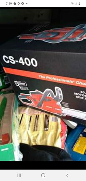 Cs 400 chain saw for Sale in Conyers, GA