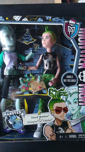 Used, Monster high 2pk Deuce Gorgon & Gil Webber for Sale for sale  Irwindale, CA
