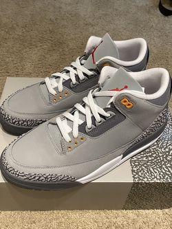 Jordan Retro 3 Cool Grey Size 10.5 for Sale in Portland,  OR