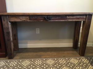 Wooden Console Table for Sale in Denver, CO