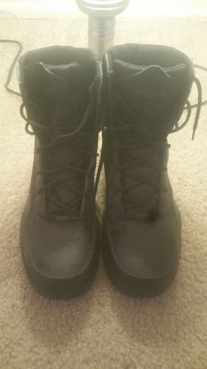 Black Steel toe Intercepter boots for Sale in Bolingbrook, IL