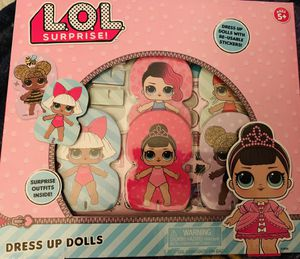 NEW DRESS UP DOLLS BY LOL SURPRISE $$$12 firm on price for Sale in Fontana, CA