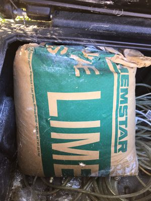 FREE 50lb bag of Lime. Not limes, the fruit, but lime. Used maybe 2-3lbs. for Sale in Vista, CA