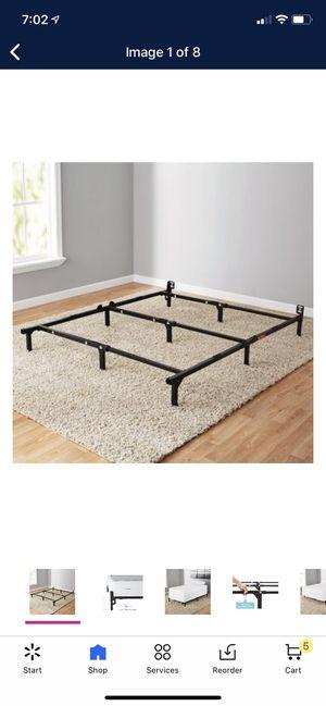 Metal adjustable bed frame for Sale in Charlotte, NC