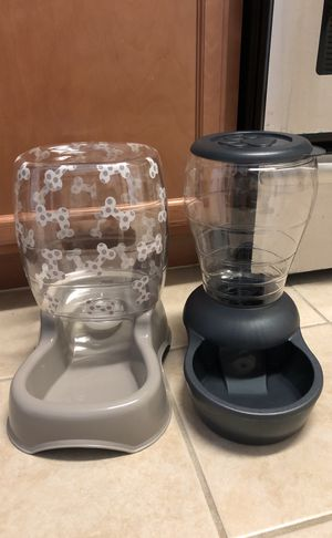 Pet food and water dispensers for Sale in Herndon, VA