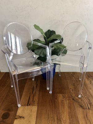 Ghost chairs (kids size) for Sale in Phoenix, AZ