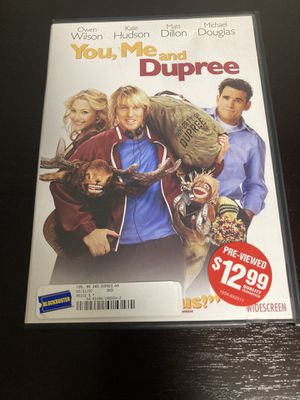 You, Me, and Dupree DVD - widescreen for Sale in Issaquah, WA
