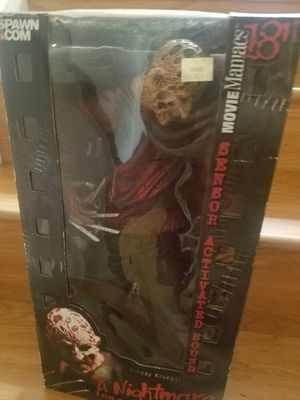 "18"" MCFARLANE Freddy Krueger Action Figure for Sale in San Francisco, CA"