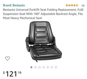 Universal Forklift Seat for Sale in San Bernardino, CA
