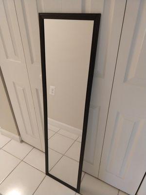 Tall Framed Door Mirror for Sale in Alexandria, VA