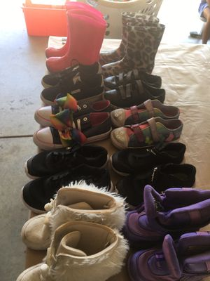 Girls shoes $20 all 10pr for Sale in Hayward, CA