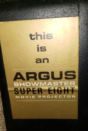 Argus Showmaster 8mm Projector for Sale in Lindenwald, OH