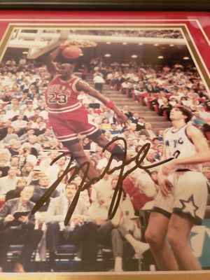Jordan signed photo for Sale in West Palm Beach, FL