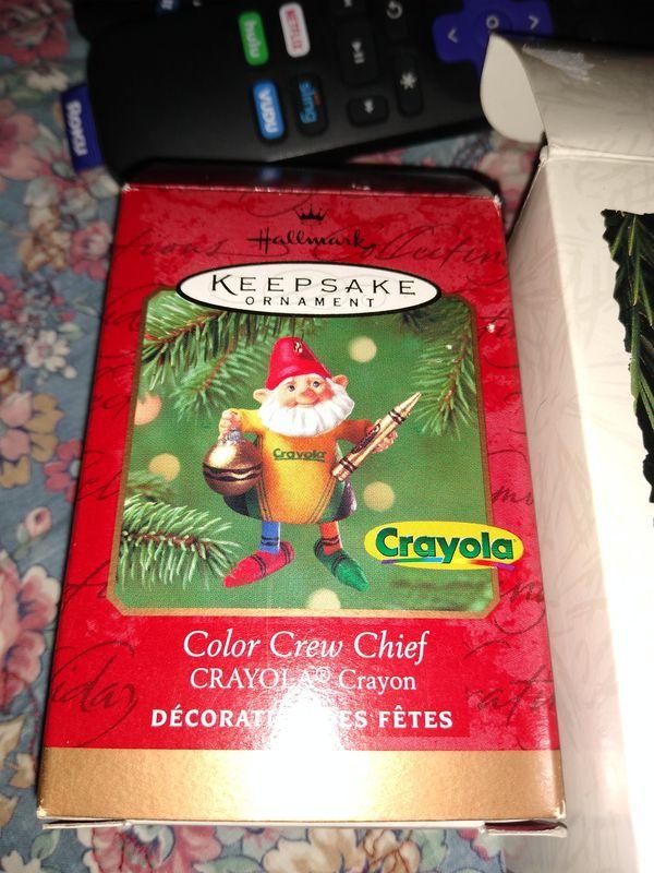 Hallmark Crayola ornament