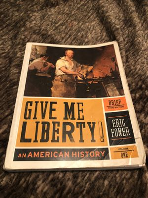 Give me liberty book for Sale in Downey, CA