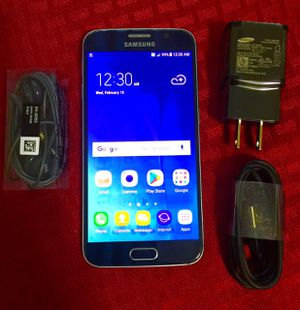 "Samsung Galaxy S6 32GB ,,Factory UNLOCKED Excellent CONDITION ""as like nEW"" for Sale in Springfield, VA"