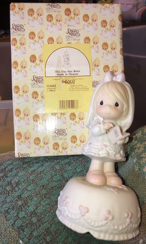 Precious Moments Music Box: This Day has Been Made in Heaven for Sale in Clinton Township, MI