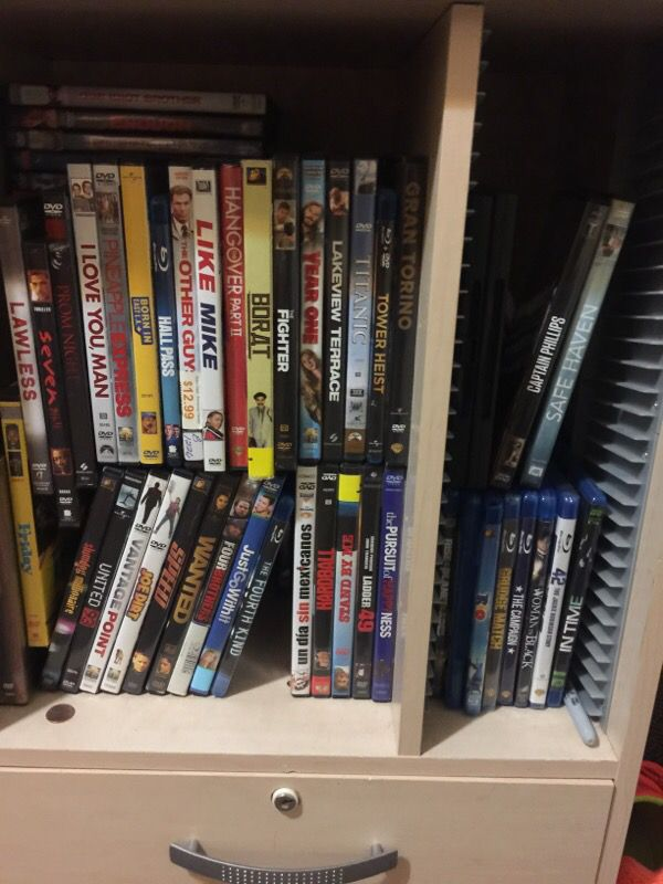 All movies dvd and blue ray