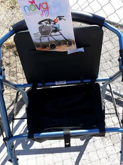 Beautiful Blue Nova Adult Walker With Seat for Sale in Henderson,  NV