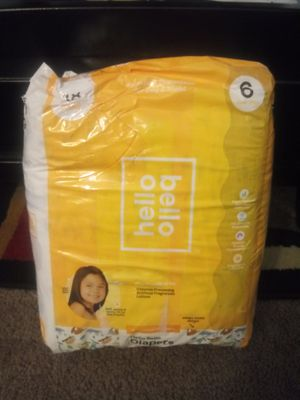 Diapers 18Packs sz 6 for Sale in Chula Vista, CA